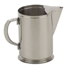 Royal Water Pitcher - ROY B 600 Water Pitcher, 64 oz., ice guard, stainless steel