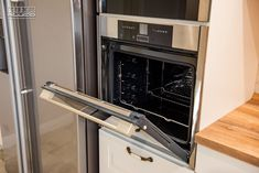 Proiect bucatarie Dumbravita | Kuxa Studio, expert in mobila de bucatarie - 5239 Wall Oven, French Door Refrigerator, French Doors, Kitchen Appliances, Studio, Home, Diy Kitchen Appliances, House, Home Appliances