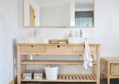 Gallery Website  Brillant IKEA Hacks for a Super Organized Bathroom Ikea hack bathroom Milk paint and Ikea hack