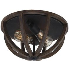 Allier Flush Mount Ceiling Light - Farmhouse Lighting - Flush Mount Lighting…