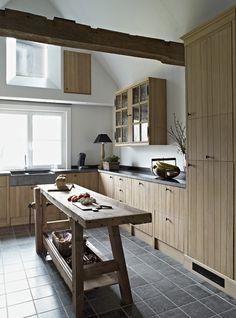Realisaties - Eiken Project - landelijke keukens van massief eik
