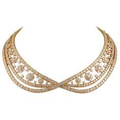 1stdibs | VAN CLEEF & ARPELS Diamond SnowFlakes Necklace