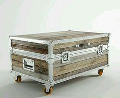 Ideias charmosas e muito úteis para malas antigas de madeira, repletas de histórias