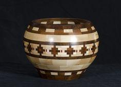 Southwestern Segmented Wooden Bowl