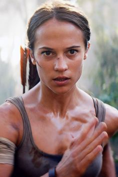 Alicia Vikander Will Return to Kick Ass and Take Treasure in Tomb Raider Sequel Tomb Raider Alicia Vikander, Alicia Vikander Lara Croft, Tomb Raider 2018, Tomb Raider Movie, Amazing Braids, Cool Braids, Dominic West, Kristin Scott Thomas, Lara Croft Tomb