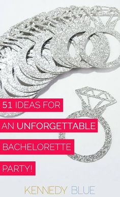 Celebrate in style with these fun tips, tricks, gifts, and party favors for the best bachelorette party you'll never forget! | 51 Ideas For an Unforgettable Bachelorette Party | Kennedy Blue