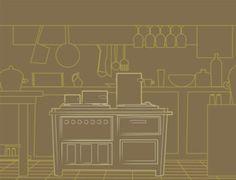 cocina fondo en marron Lotus, Kitchen, Design, Blog, Cuisine, Lotus Flower, Home Kitchens, Blogging, Cucina