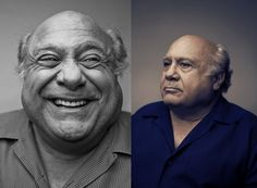 Austin-Hargrave-Danny-DeVito. Beautiful light. Great to see photographers still shooting 8x10.