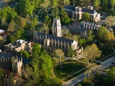 The majestic University of the South (familiarly called Sewanee) almost seem photoshopped in among t... - Courtesy The University of the South