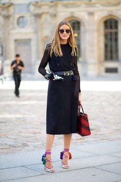 Ideas For Fashion Week Street Style Paris Olivia Palermo Street Style Chic, Street Style Trends, Spring Street Style, Paris Street Fashion, Printemps Street Style, London Fashion, Vogue, Style Olivia Palermo, Style Snaps