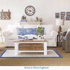 i like nautical(would love to have something like this for my living room!)