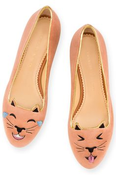We are officially OBSESSED with these flats <3 <3