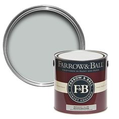 Farrow & Ball Card Room Green Matt Estate emulsion paint - B&Q for all your home and garden supplies and advice on all the latest DIY trends Farrow Ball, Gloss Paint, Paint Stain, Dix Blue, Wimborne White, Cornforth White Farrow And Ball, Minimalist Apartment, Apartments Decorating, Houses