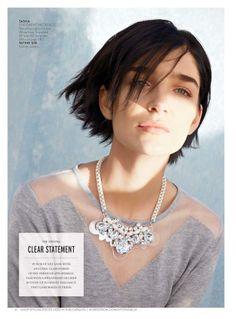 Tasha statement bib necklace