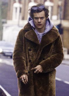 that's the first time i've seen this coat but it's already his best coat