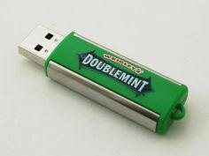USB Wrigleys flash drive