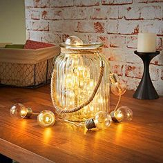 #Festoone Clear Warm White A perfect decoration for Valentine's Day, Christmas, other holidays, party, wedding.
