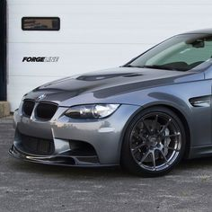And the pictures don't even do it any justice. Our project M3 looks perfect on these one piece forged monoblock GA1R wheels finished in Transparent Smoke. See more at: http://www.forgeline.com/customer_gallery_view.php?cvk=651