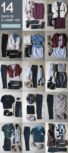 How To Pack 2 Weeks In A Carry-On (really good packing/travel tips) | The Tres Chic
