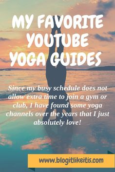The three yoga guides that I am listing here are all very unique in their own way and for me it is a nice variety. So depending on the day and how I feel at that time, I select the personality or y…