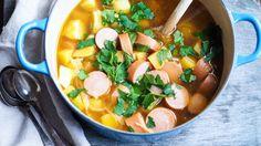 Kjøttsuppe – Ida Gran-Jansen Thai Red Curry, Ramen, Food To Make, Japanese, Dinner, Ethnic Recipes, Japanese Language, Suppers, Windows