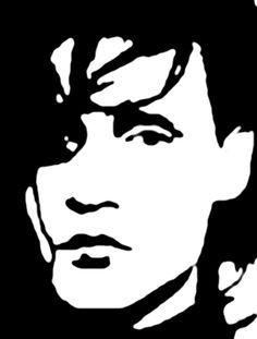 Edward scissorhands stencil