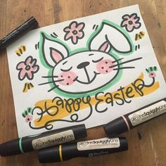 Doodle Drawings, Happy Easter, Doodles, Watch, Illustration, Design, Happy Easter Day, Clock, Illustrations