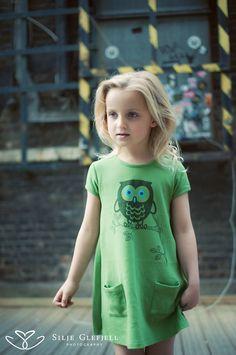 Organic girls dress by Gooey Brand in  Shoreditch Brick Lane