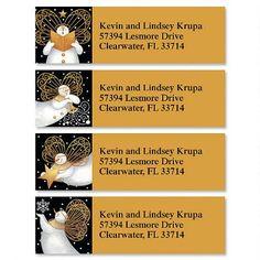 Snow Angels Classic Address Labels(4 Designs) $7.99