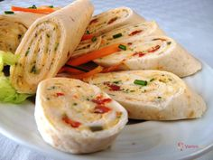 Fresh Rolls, Deli, Finger Foods, Food And Drink, Snacks, Ethnic Recipes, Tortillas, Mince Pies, Appetizers