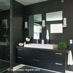 Vasque de salle de bain et robinetterie, armoire salle de bain