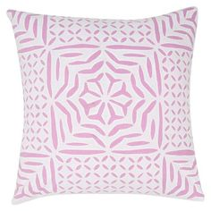 I pinned this Kerala Pillow in Pink from the India's Heritage event at Joss and Main!