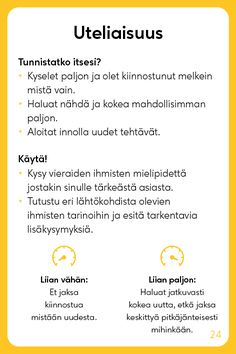 Vahvuuskortit - Positive Learning Learn Finnish, Healthy Mind, Self Help, Kids Learning, Growing Up, Mindfulness, Study, Positivity, Quotes