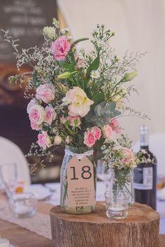 Hochzeitsdekorationen im Herbst