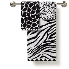 bathroom ideas--- i wish mark would let me put animal print in the spare bathroom... it could be mine? haha