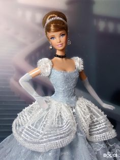 Disney Barbie Dolls, Disney Princess Dolls, Disney Princesses, Cinderella Doll, Barbie Costume, Walt Disney, Disney Treasures, Vintage Barbie Clothes, Pretty Dolls