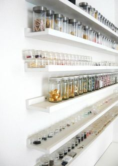 Great storage idea for all my beads & notions!