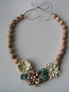 eclectic inspired necklace tutorial
