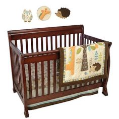Amazon.com: Graco 7 Piece Crib Bedding Set, in The Forest: Baby