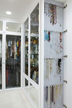Closet Art!  I love displaying jewelry like this rather than in a jewelry box.  This way you can see all your pretty jewels and admire them like the art that they are! www.BellaAmoreLegacyJewelry.com