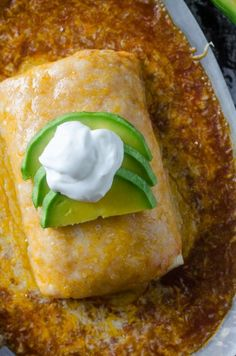 Everyone loves these flavorful Wet Burritos, smothered in a rich spicy sauce, and topped with tons of cheese! Easy & fast to make. Mexican Cooking, Mexican Food Recipes, Tamales, Wet Burrito Recipes, Mexican Wet Burrito Recipe, Wet Burrito Recipe Ground Beef, Enchiladas, Nachos, Gourmet