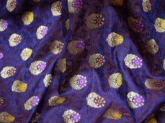 Royal Blue Crafting Sewing Jacquard Skirts Indian Banarsi | Etsy Brocade Fabric, Jacquard Fabric, Cotton Fabric, Brocade Suits, Cotton Silk, Printed Cotton, Bleu Royal, Royal Blue, Yard Wedding