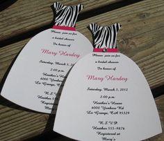 Leopard print bridal shower invitation filmwisefo