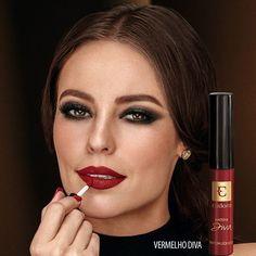 Conquiste lábios marcantes com as novas cores de batom Matefix. Este é o Vermelho Diva que a @claudialeitte usou ontem no #TheVoiceBrasil ;) De R$33,99 por R$29,99 no Ciclo 13. #DivaEudora #Eudora