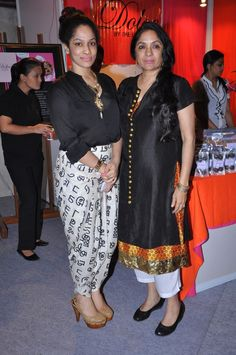 Masaba with her creator in her creation :)