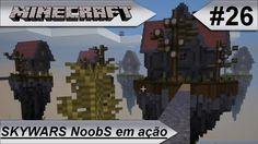 MINECRAFT Skywars NoobS em ação!! #26