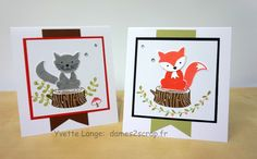 Foxy Friends from Stampin' Up!
