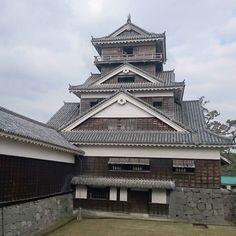 #宇土櫓 熊本城の天守は西南戦争の際に焼失したため復元されたものだけどこちらは現存  #熊本城 #加藤清正 #熊本 #kumamoto #castle by mharag