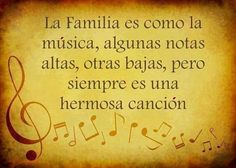 Familia = musica