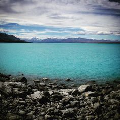 Totally turquoise #turquoise #glaciallake #mtcook #newzealand #southisland by ajohnjay